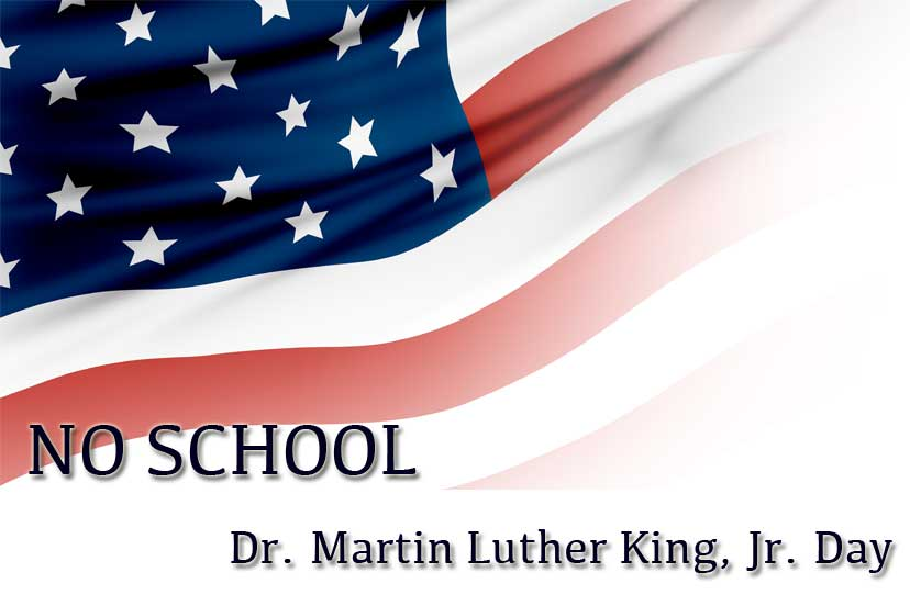 No School Dr Martin Luther King Jr Day The Journey School