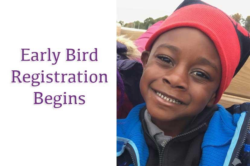early bird registration begins