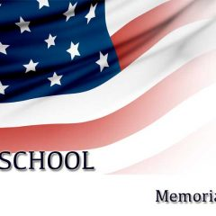 no school - memorial day