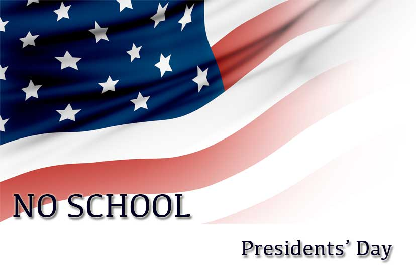 no school - presidents day