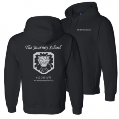 The Journey School hooded sweatshirt