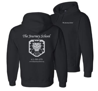 The Journey School hooded sweatshirt