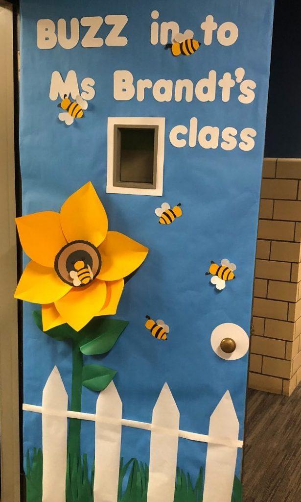 Ms Brandt's door